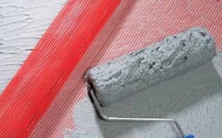 Как правильно клеить штукатурную сетку на стены