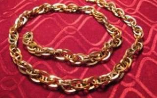 Как правильно выбирать золотую цепочку