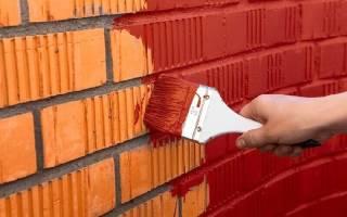Как правильно красить кирпичную стену