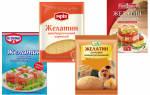 Как правильно использовать желатин для желе