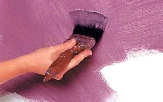 Как правильно красить кистью