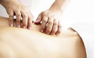 Как правильно делать массаж поясницы