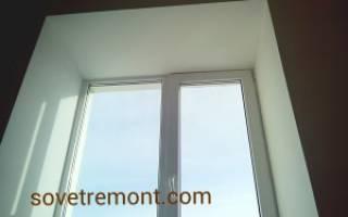 Как правильно красить откосы на окнах