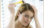 Как правильно красить длинные волосы видео