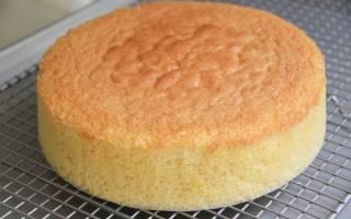 Испечь правильный бисквит в домашних условиях