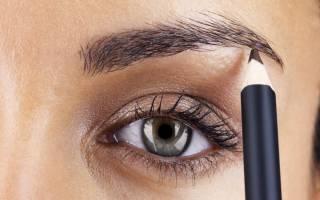 Как правильно красить брови видео урок профессионала