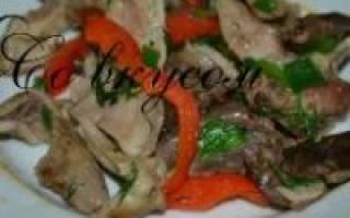 Как правильно готовить свиной желудок