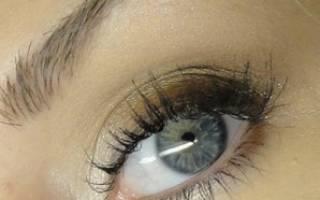 Как правильно красить серые глаза