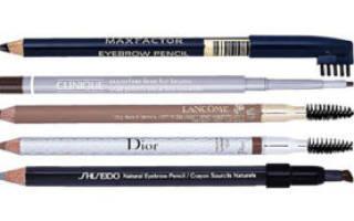 Как правильно выбрать карандаш для бровей