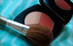 Как правильно красить румяна
