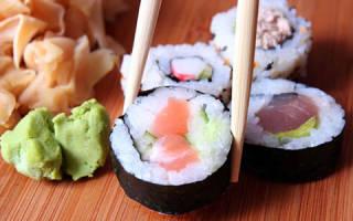 Как правильно есть суши палочками фото