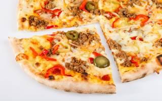 Как правильно есть пиццу в кафе