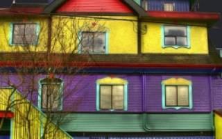 Как правильно красить фасад дома