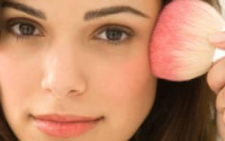 Как правильно красить щеки