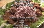 Как правильно готовить баранину на мангале