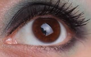 Как правильно красить глаза кареглазым