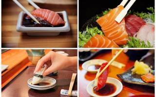 Как правильно есть суши палочками видео