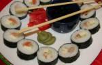 Как правильно готовить суши видео